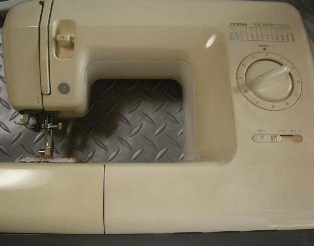 brotherミシン修理|ZZ3-B575|Soiree575|縫い目の裏がぐちゃぐちゃになる、縫えない