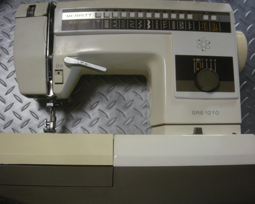 SINGERミシン修理|SRE-1210|MERRITT|別の縫い方になってしまう
