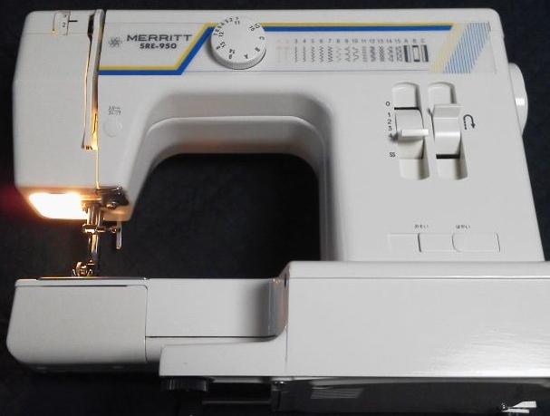 SINGERミシン修理|SRE-950|MERRITT|生地を送らない