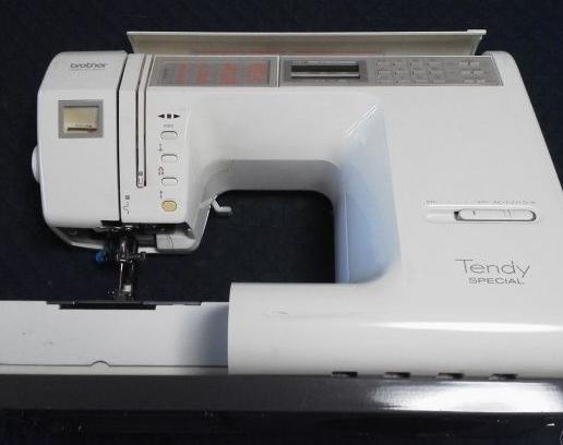 brotherミシン修理|ZZ3-B892|TendySPECIAL|「青いレバー↑」のエラーコードが出て縫えない
