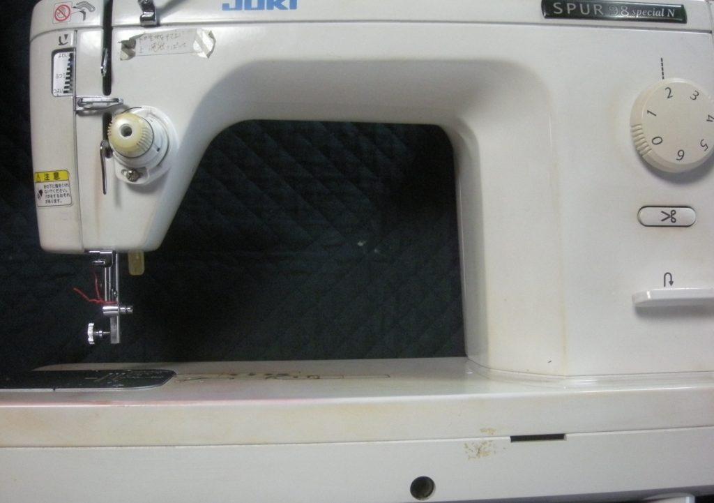 JUKIミシン修理|TL-98SP|SPUR98Special|電源は入るが動かない