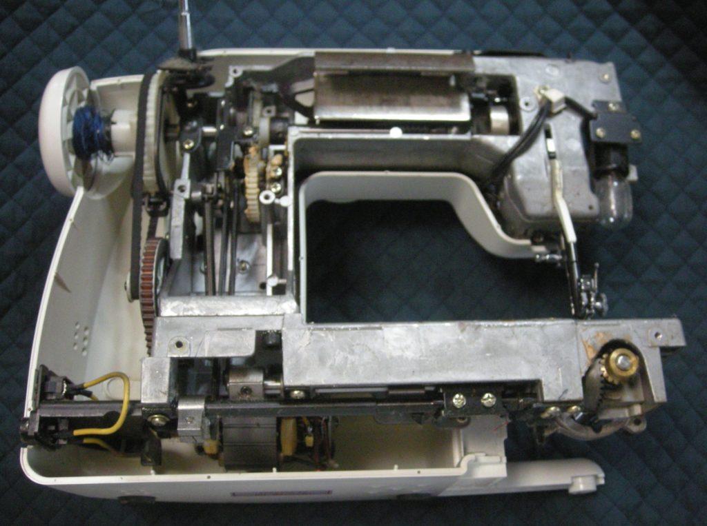 AG-001(山崎範夫のミシン)の分解オーバーホールメンテナンス修理|アックスヤマザキミシン
