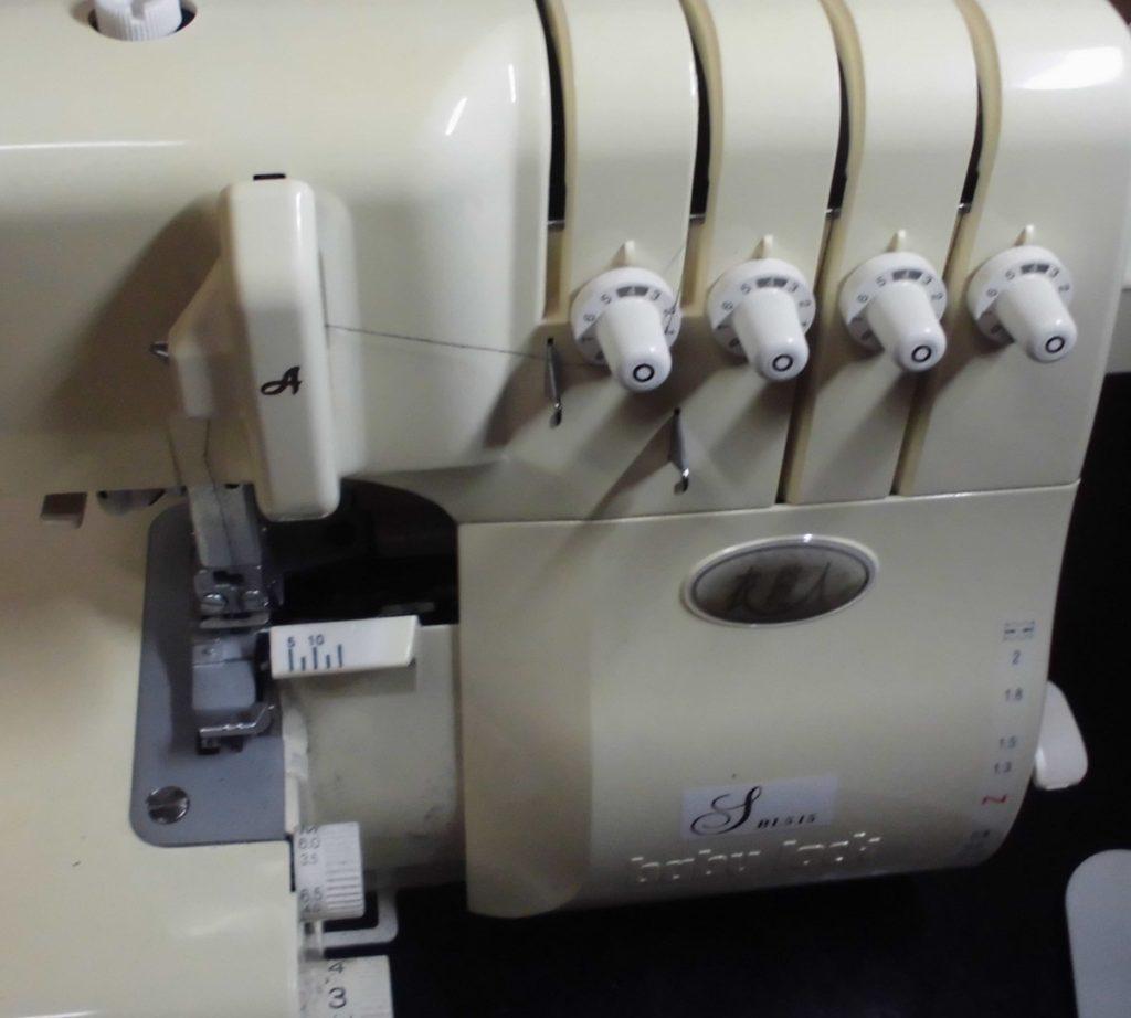 (株)ジューキベビーロックミシン修理|BL515|衣縫人|はずみ車が固く全く回らない