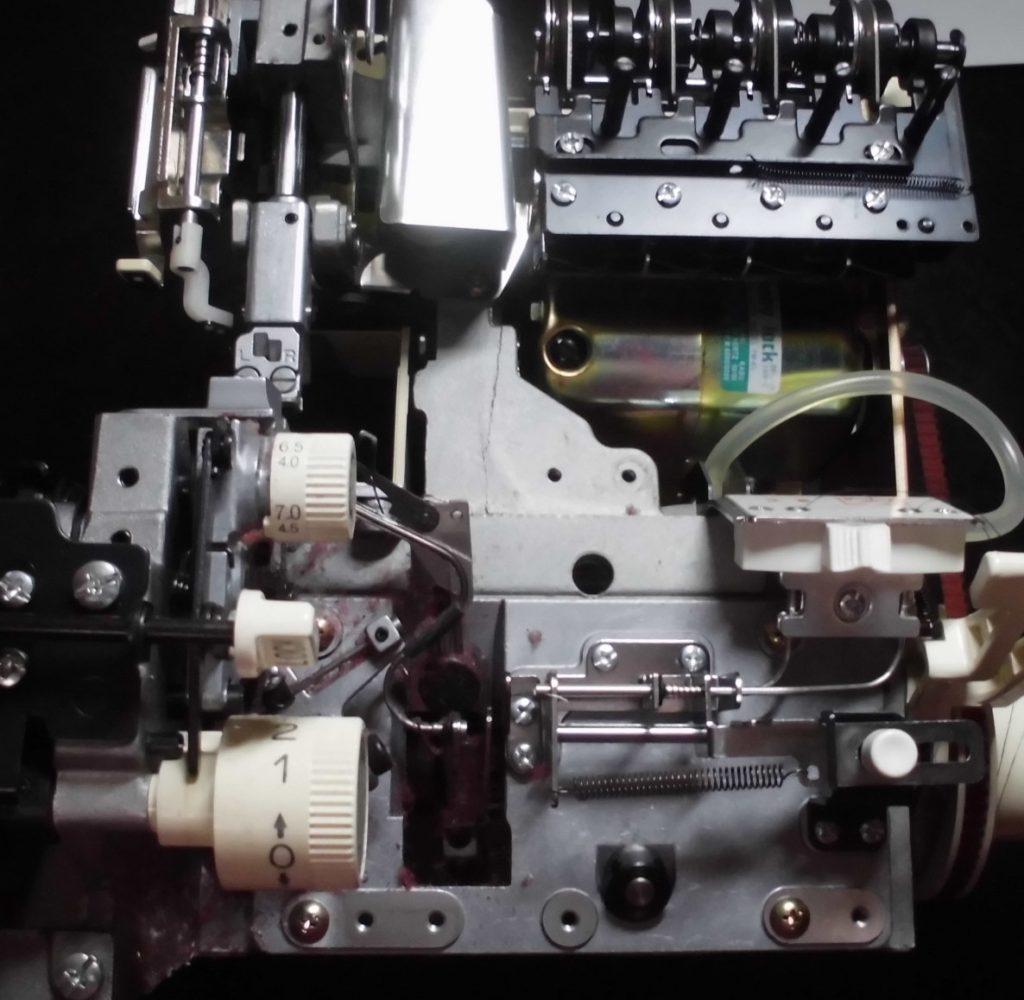 BL515の分解オーバーホールメンテナンス修理|衣縫人|ベビーロックミシン