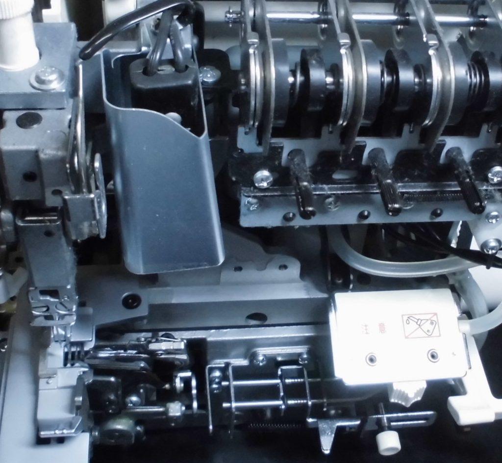 衣縫人BL54の分解オーバーホールメンテナンス修理|ベビーロックミシン