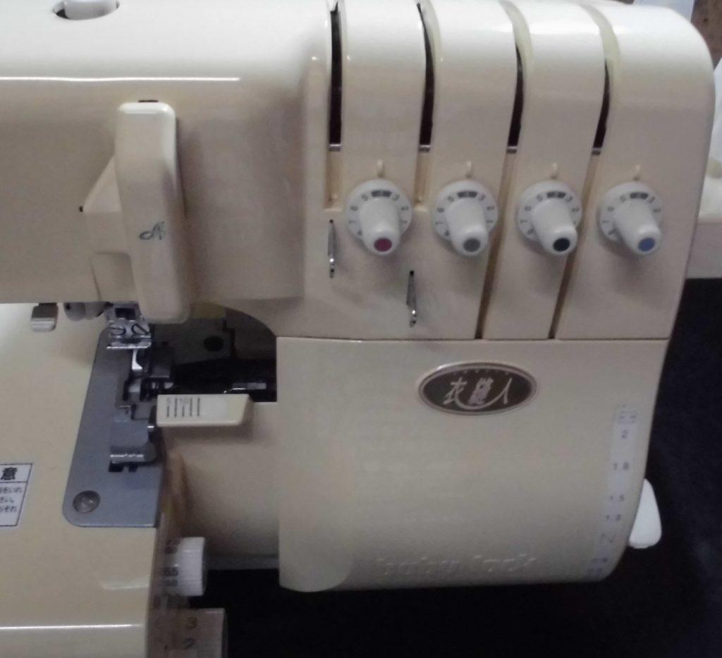 ベビーロックミシン修理|BL57|衣縫人|上ルーパーに糸が通らない