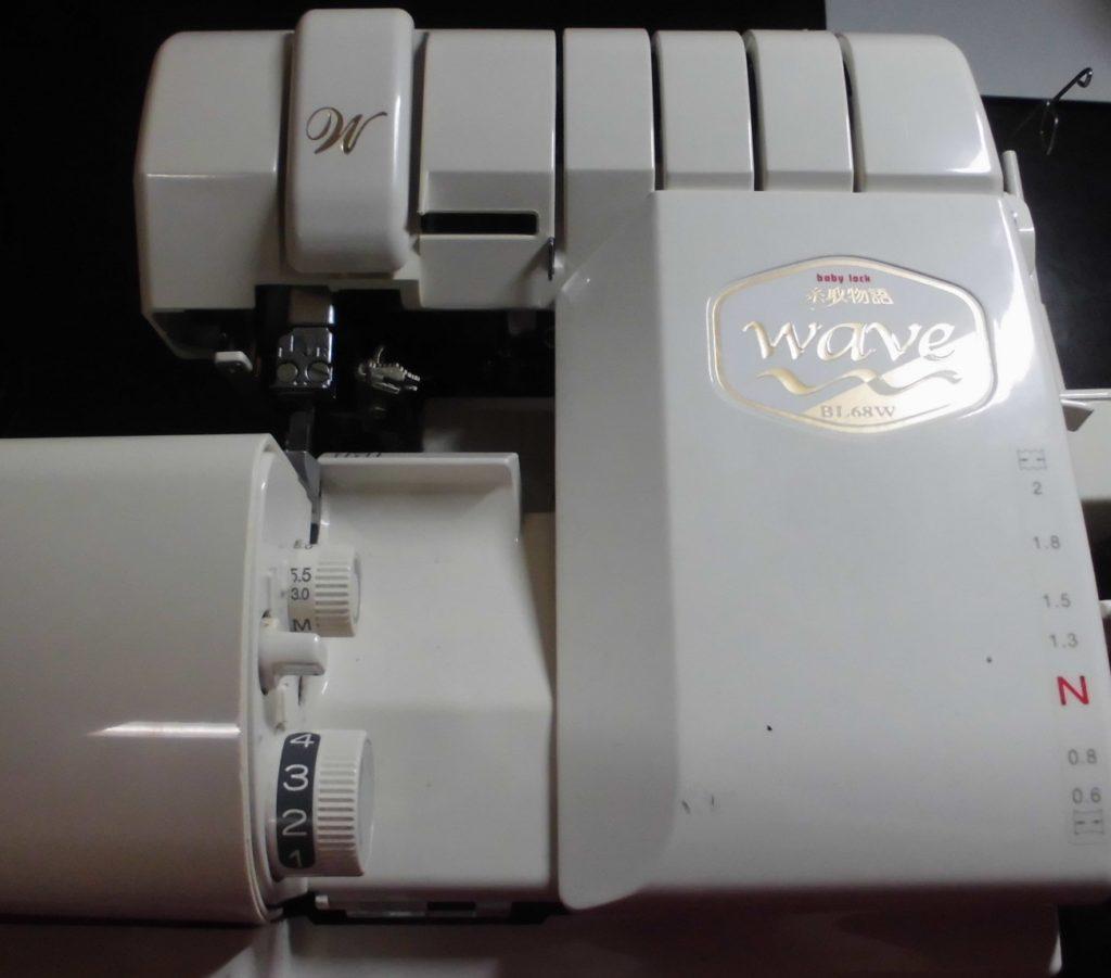 (株)ジューキベビーロックミシン修理|BL68W|糸取物語WAVE