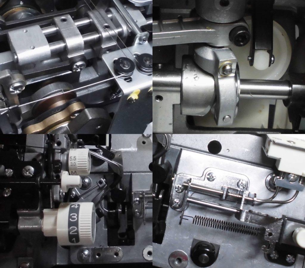 BL68Wの分解オーバーホールメンテナンス修理|糸取物語WAVE|ベビーロックミシン
