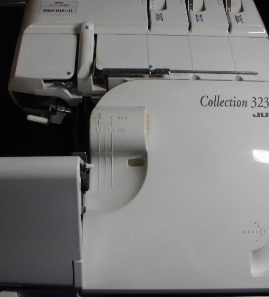 JUKIロックミシン修理|コレクション323D|MO-323D|ミシンのメンテナンス修理