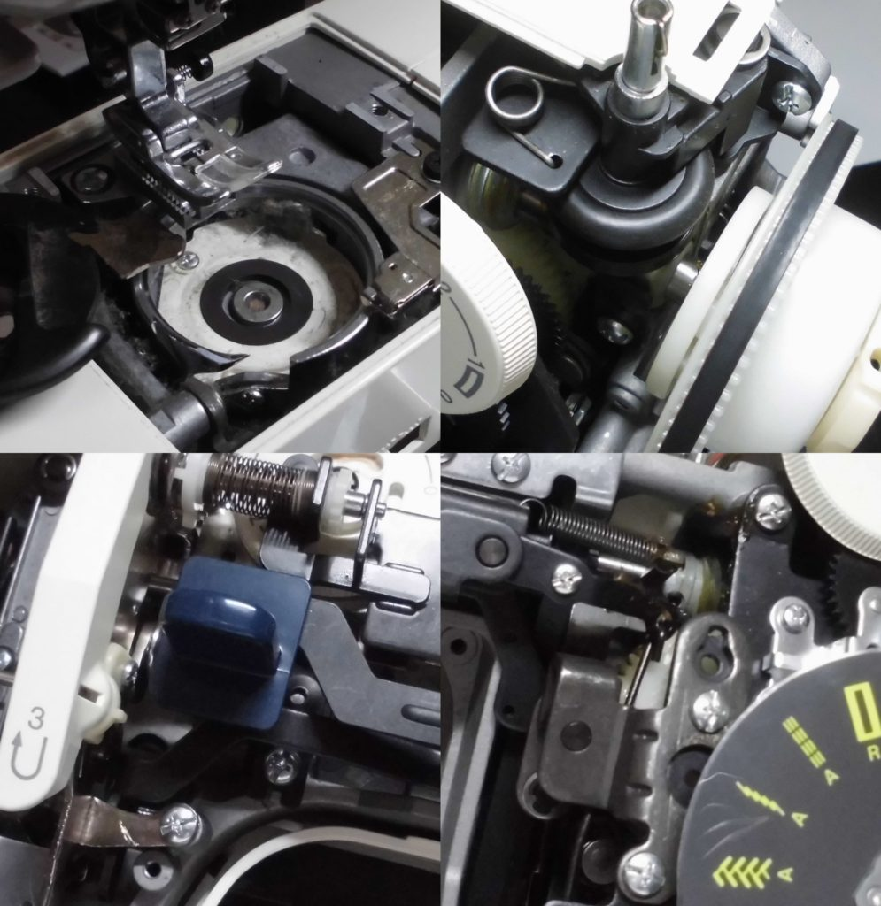 E4000の故障、不具合|縫えない、下糸をすくわない、返し縫いしない、異音がする