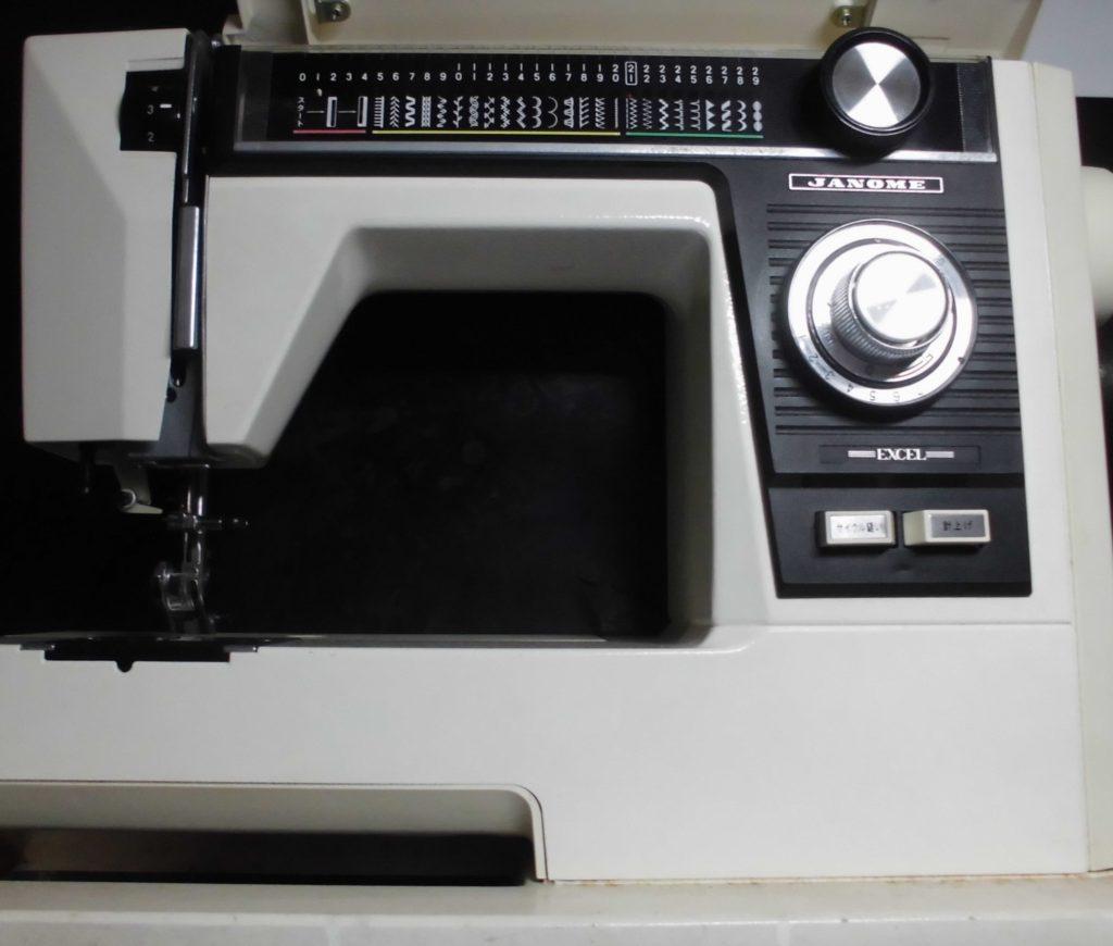 JANOMEミシン修理|EXCEL817|綺麗に縫えない、ジグザグが縫えない
