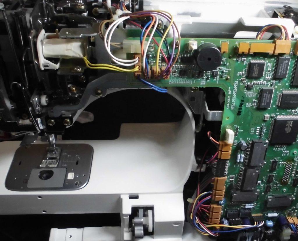 HZL-009の分解オーバーホールメンテナンス修理|JUKI刺繍コンピューターミシン