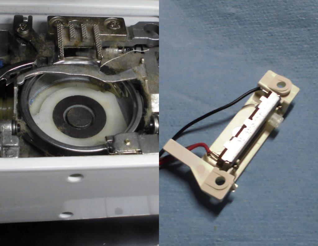 HZL-009の故障、不具合|ミシンのスピード(速度)が変わらない
