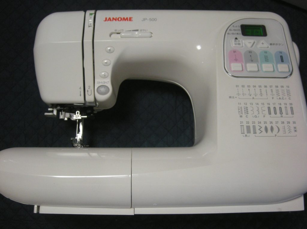 JANOMEミシン修理|JP-500|糸調子が合わない
