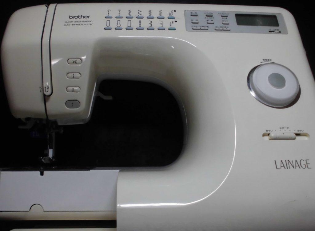 brotherミシン修理|LAINAGE|ZZ3-B833|スタートボタンの反応が悪くミシンが動かない