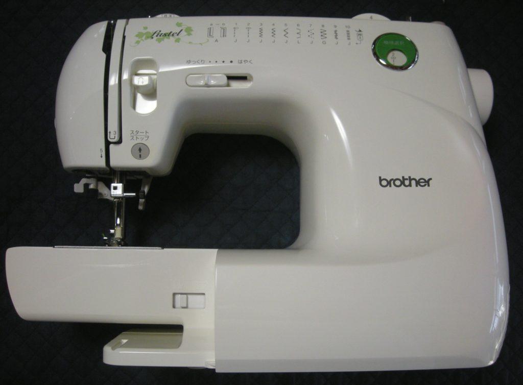 brotherミシン修理|EL620|lustel|布を送らず縫えない