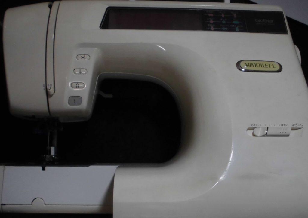 ブラザーミシン修理|ZZ3-B897|MIMOLLET-L|液晶が暗くて見えない(バックライト)