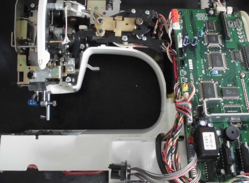 ZZ3-B897(MIMOLLET-L)の分解オーバーホールメンテナンス修理|brotherミシン