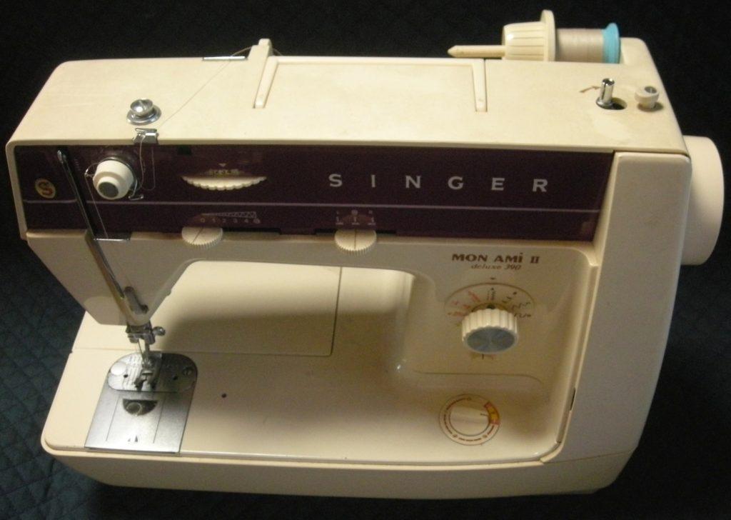 SINGERミシン修理|MON AMIⅡdeluxe390|下糸が巻けない