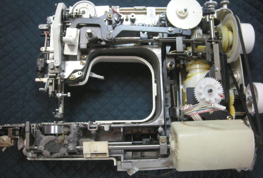 brotherミシン修理|PS-2000|EL6982|布送りが悪い