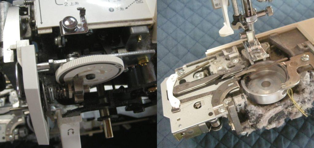 EL6982の故障や不具合|布を送らない、縫えない、糸調子が悪い