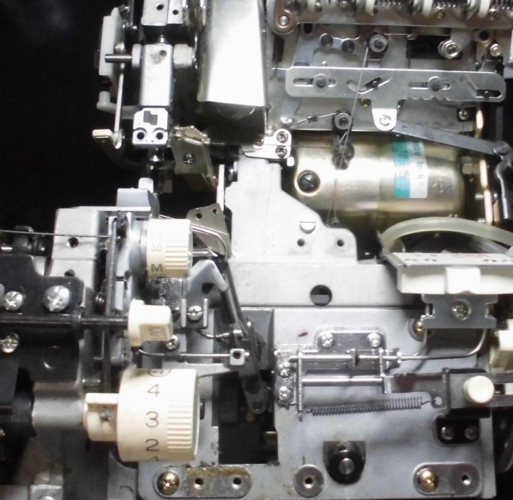 糸取物語BL66の分解オーバーホールメンテナンス修理|babylockミシン