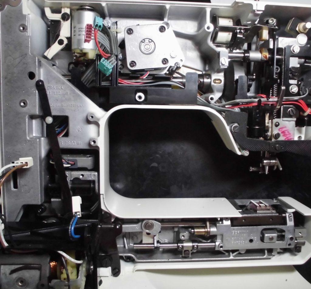 Holidaynu1240の分解オーバーホールメンテナンス修理 リッカーミシン修理