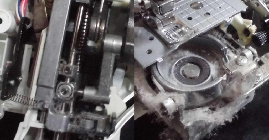 CPS40の故障、不具合|動かない、縫えない、糸が絡まる、はずみ車が重い