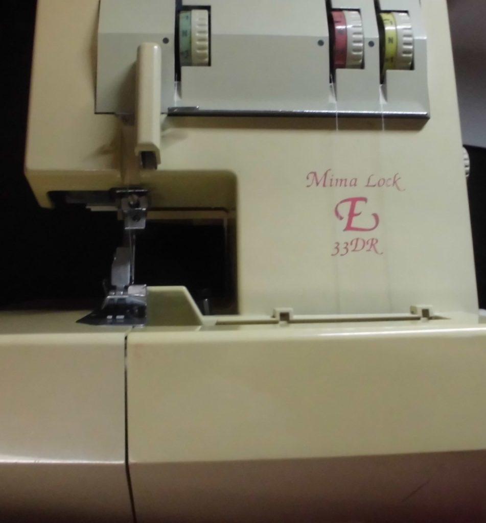 美馬精機ロックミシン修理|E33DR|mimalock|布を切らない