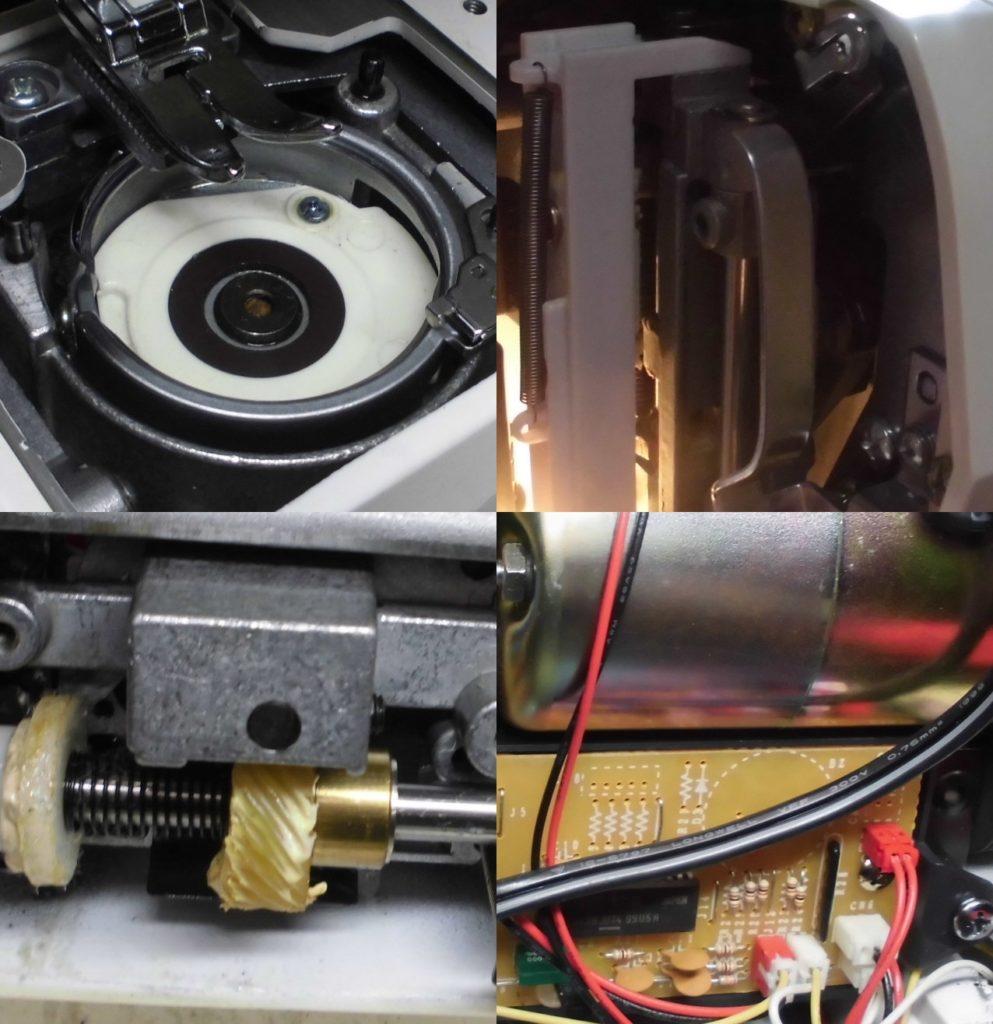 フィットラインの全体メンテナンス修理|動かない、縫えない、糸が絡む|シンガーミシン修理