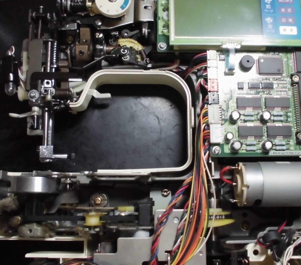 ZZ3-B140の分解オーバーホールメンテナンス修理|ブラザー刺繍ミシン|P-5000