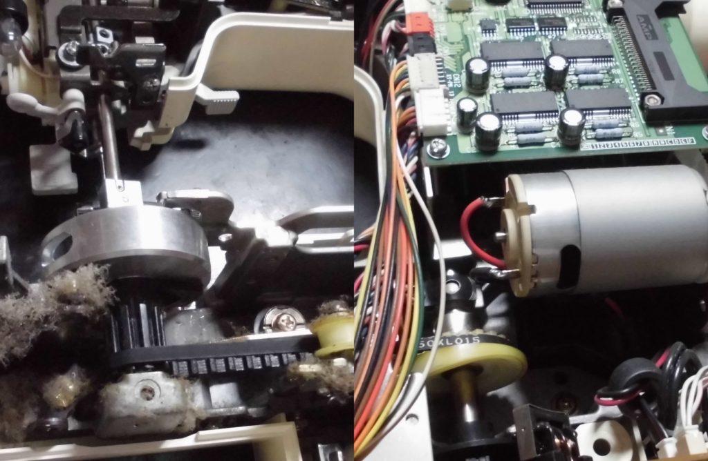 P-5000の故障、不具合|綺麗に縫えない、糸が絡まる、液晶不良