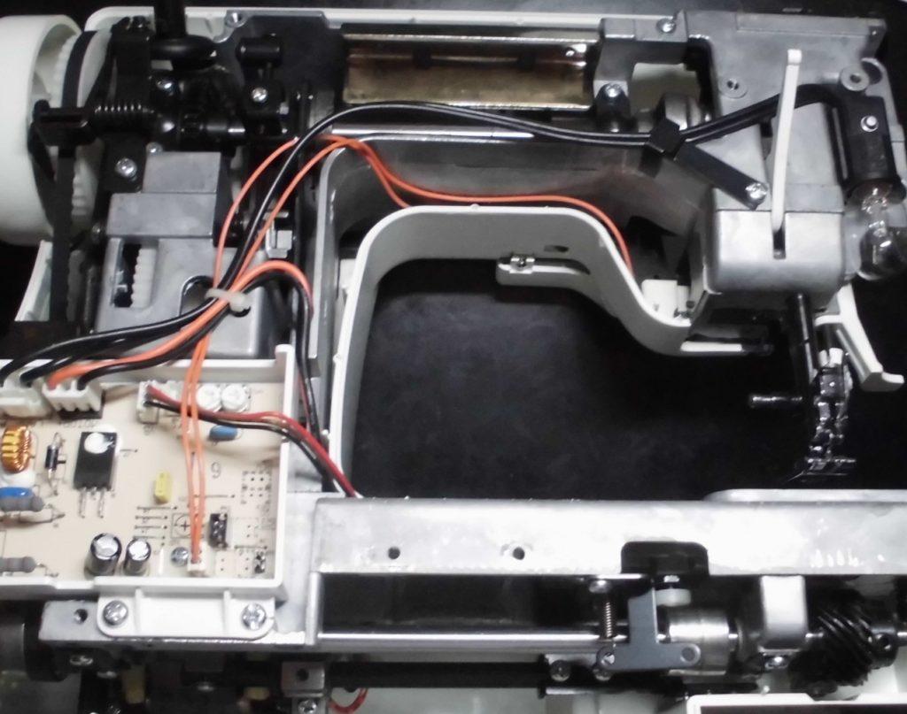 QT-900ET分解オーバーホールメンテナンス修理|縫えない、糸が絡む、糸が通らない