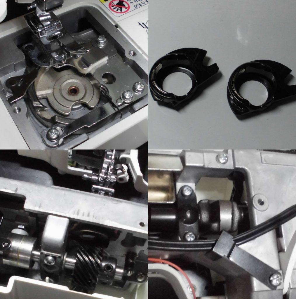 QT-900ETの故障、不具合|部品破損、釜ずれ、縫えない、糸が絡む