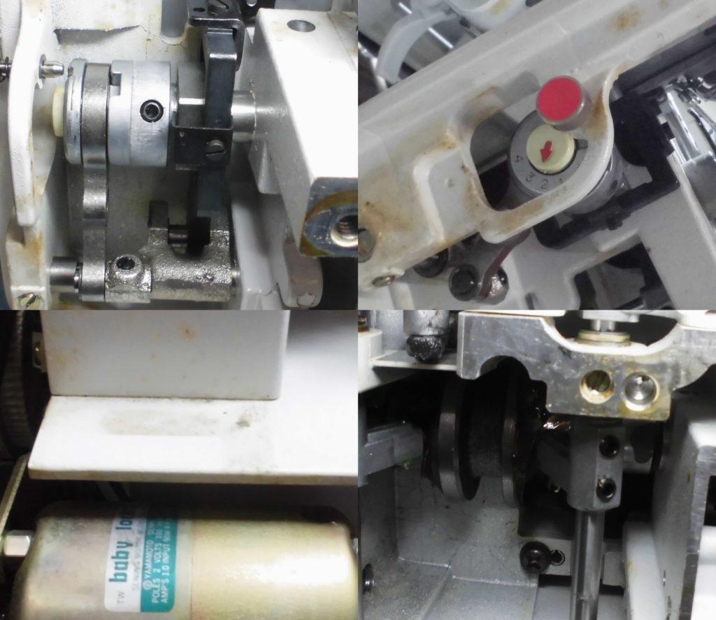 BL3-437MRの分解オーバーホールメンテナンス修理|babylockミシン