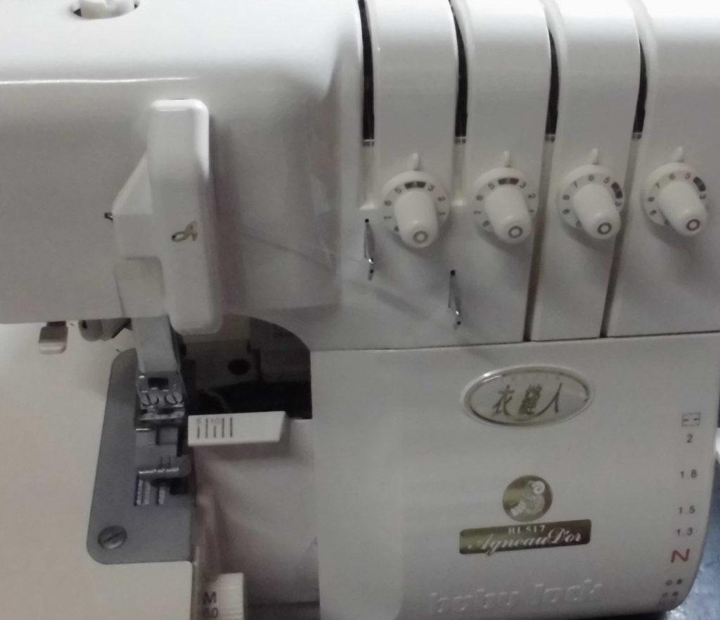 babylockミシン|BL515|衣縫人|アニュドール|はずみ車が動かない