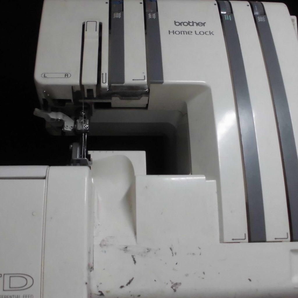 brotherロックミシン修理|HomeLock|TE4-965|綺麗に縫えない