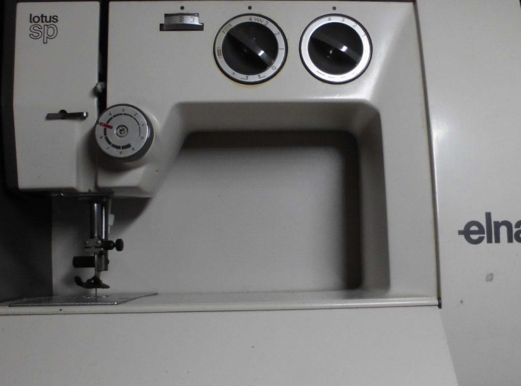 エルナミシン修理|ロータスSP|TSP35|スムーズにミシンが動かない