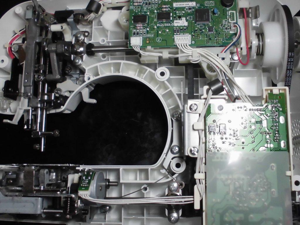 CPSE42(MS201)の分解オーバーホールメンテナンス修理|ブラザーミシン修理