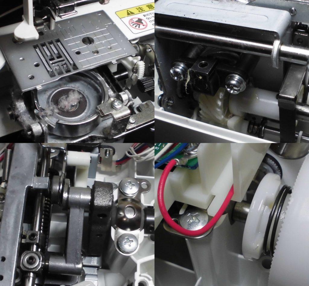 MS201の故障内容|エラーE6、釜の傷、糸かけ不良