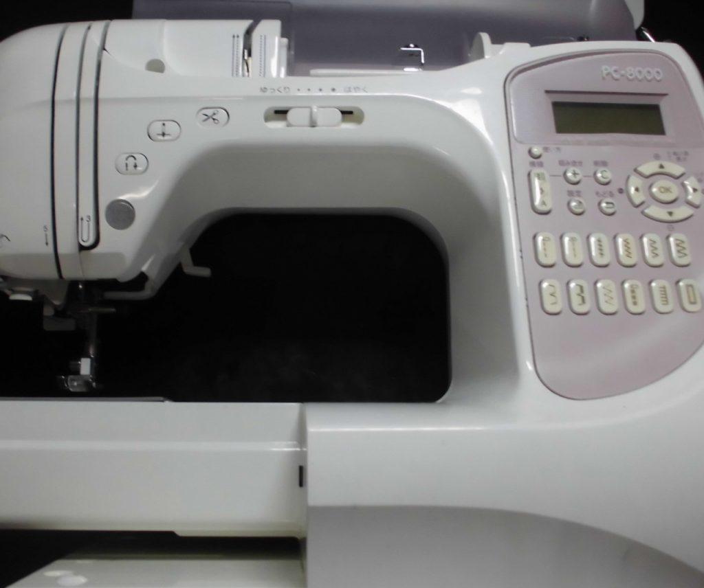 brotherミシン修理|PC-8000|CPS54|電源が入らない、綺麗に縫えない、糸通し不良