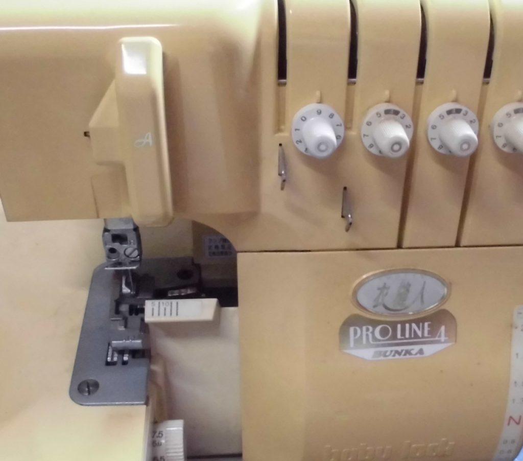 (株)ジューキベビーロックミシン修理|プロライン4|衣縫人|はずみ車が回らない