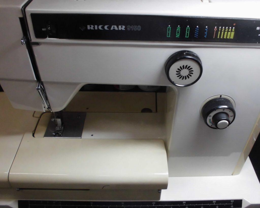 RICCARミシン修理|リッカー9150型|全体メンテナンス|糸調子不良、綺麗に縫えない