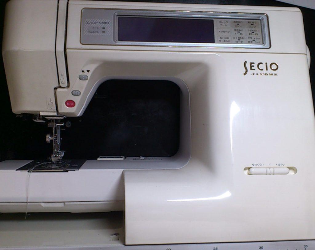 JANOMEミシン修理|SECIO8210|ステッピングモーターエラー