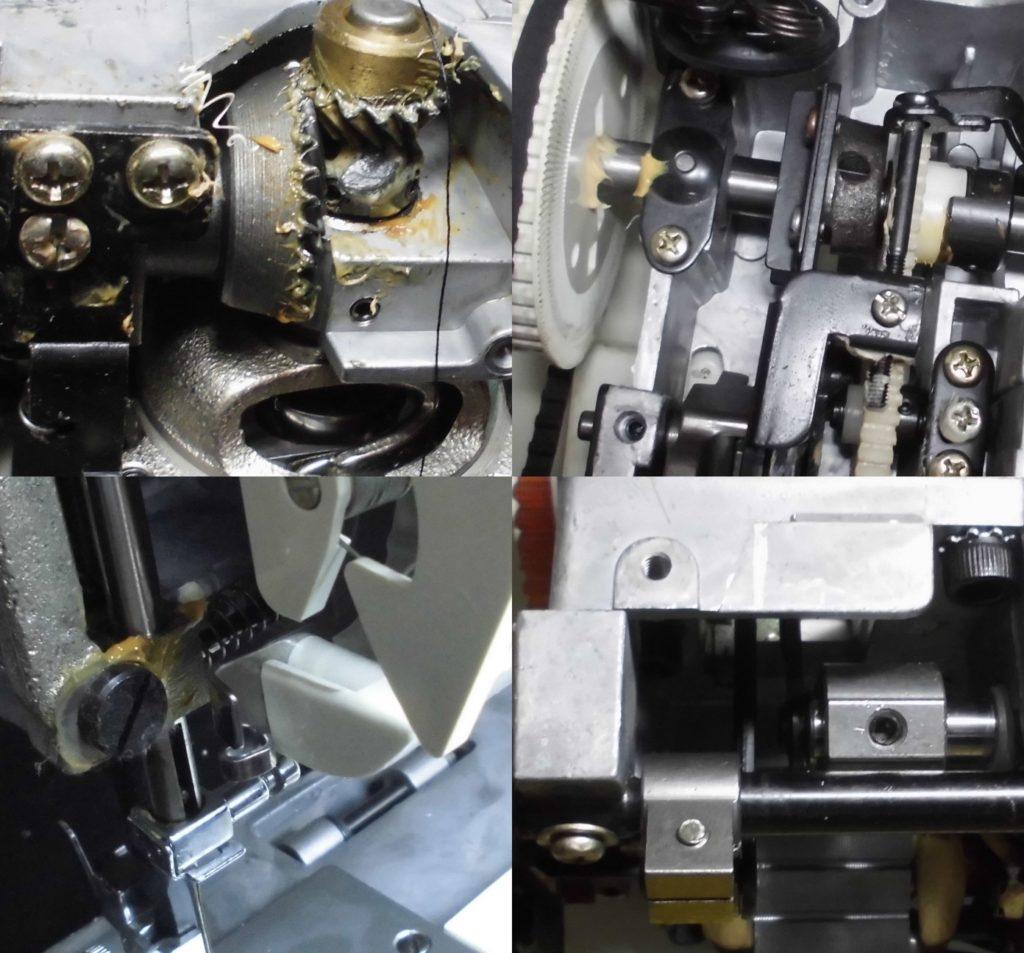 AG-001の故障・不具合 縫えない、糸絡み、糸切れ頻発、糸調子不良、異音
