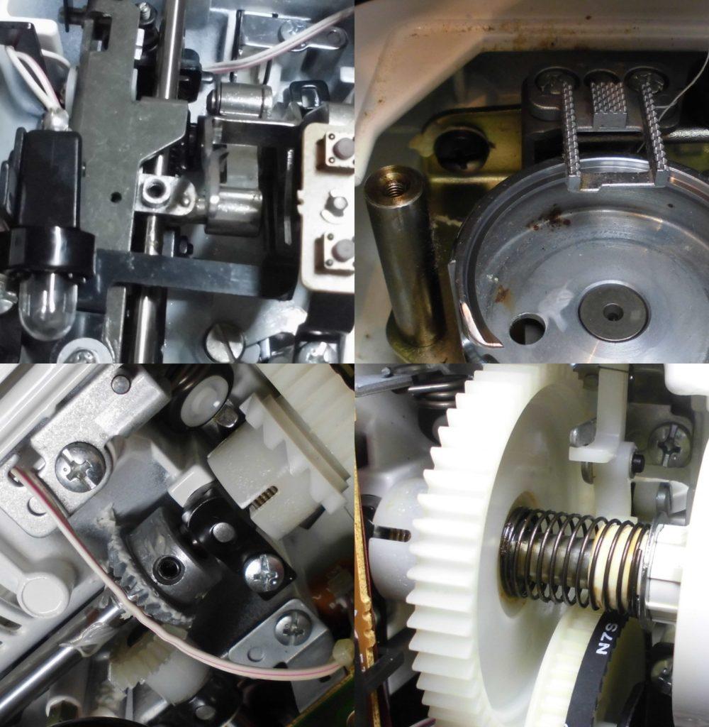 ZZ3-B122Nの故障、不具合 縫えない、糸絡み、布を送らない、メンテナンス