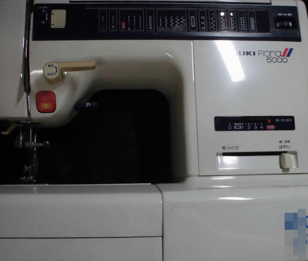 JUKIミシン修理|HZL-5000|フローラ|電子ミシン|動かない、縫えない