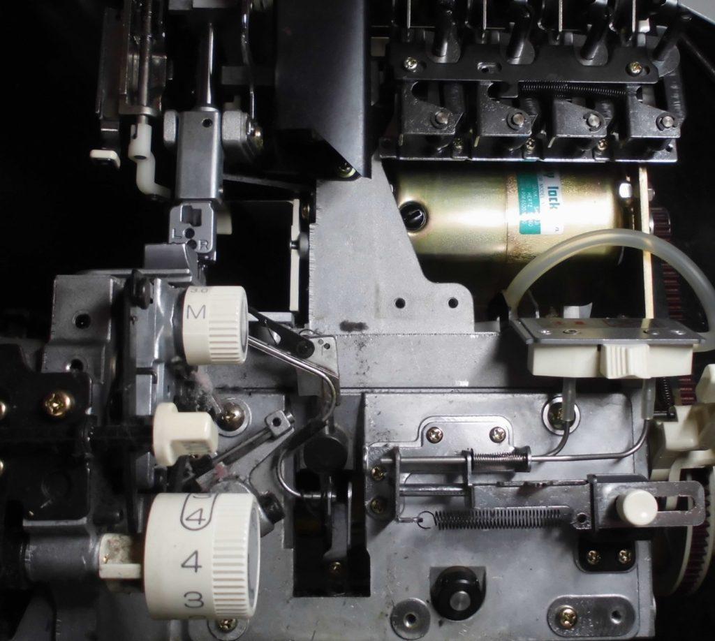 衣縫人の分解オーバーホールメンテナンス修理|(株)ジューキbabylockミシン