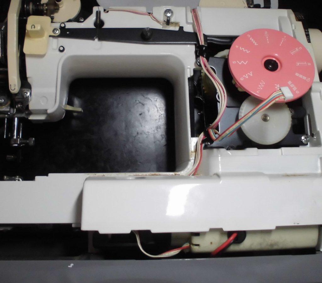 ZZ3-B581の分解オーバーホールメンテナンス修理 ブラザーミシン修理
