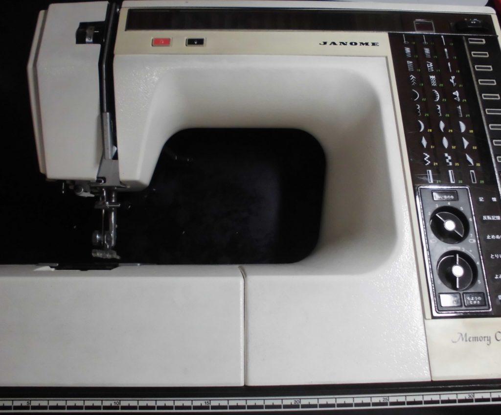 JANOMEミシン修理|メモリークラフト6000|正常に動作しない